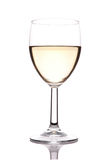 Glass of White Wine Royalty Free Stock Photo
