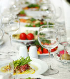 Glass of white wine. Stock Images