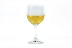 Glass of white wine Royalty Free Stock Photography