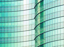 Glass on window of modern building Stock Photography