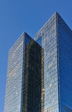 Glass windowed high rise Stock Images