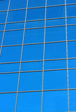 Glass windows of a big building Stock Image