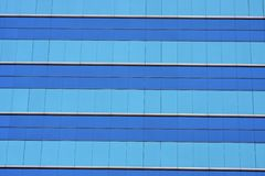 Glass windows on a building Royalty Free Stock Photography