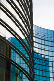 Glass windows centre business Stock Photos