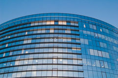 Glass windows centre business Royalty Free Stock Photography