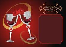 glass wine Fotografering för Bildbyråer