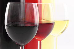 Glass of wine Stock Image