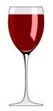 Glass of wine Stock Photos