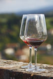 Glass of wine royalty free stock photos