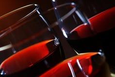glass wine Royaltyfri Foto