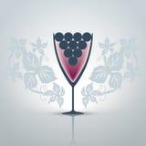glass wine Royaltyfri Bild