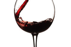 glass wine royaltyfria foton