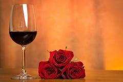 glass wine Arkivfoton