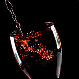 Glass of wine Royalty Free Stock Image