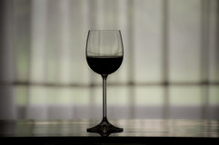 Glass of wine. Best glas of red wine Stock Photography
