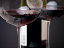 Glass of Wine Close Up Royalty Free Stock Photo