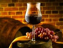Glass of wine. Enjoy a good glass of wine Stock Photo