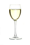 A glass of wine. With a golden Stock Images