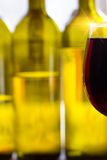 Glass wine Stock Photo