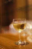 A glass of wine. In the party Royalty Free Stock Images