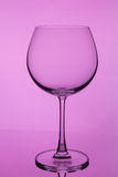 Glass with wine Stock Images