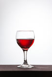 Glass with wine Royalty Free Stock Image