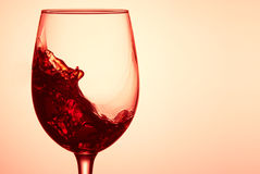 Glass of wine. Royalty Free Stock Image