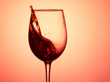 Glass of wine. Royalty Free Stock Photo