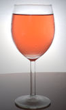 A glass of wine - Rose Stock Photos