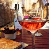 Glass of wine Royalty Free Stock Photo