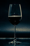 Glass of wine vintage colour Royalty Free Stock Photography