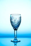 Glass wineglass It stands on the background. Glass wineglass It stands on the white background Stock Image