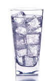Glass With Ice Water Stock Images