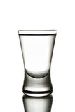 Glass wodka Royalty Free Stock Image