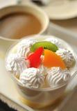 Glass of yogurt Royalty Free Stock Photo