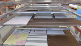 Glassa delle mattonelle Fotografia Stock Libera da Diritti