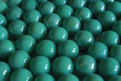 Glassbead verde Fotografia Stock