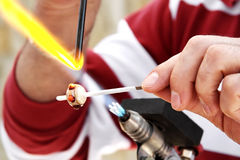 Glassblower Royalty Free Stock Photography