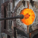 Glassblower Royalty Free Stock Image