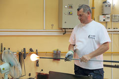 Glassblower Royalty Free Stock Images