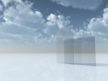 Glas stock abbildung