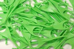 Glasschlacke Toothpick stockbild