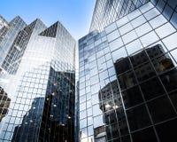 Glasse del grattacielo a Montreal, Canada Immagine Stock