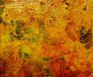 Glasse dell'olio su tela di canapa verniciata illustrazione vettoriale