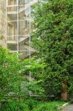 Glassed schody Zdjęcia Royalty Free