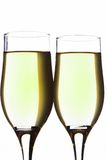 Glasses. Of champaign Royalty Free Stock Photography