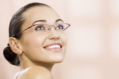 In glasses Royalty Free Stock Images