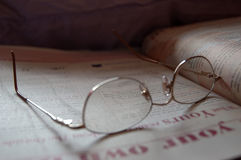 Glasses. Reading Glasses Royalty Free Stock Images