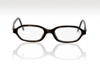 Glasses. With reflection royalty free stock photos