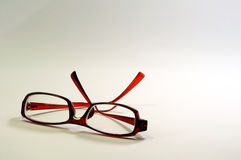 Glasses. A pair of reading glasses stock photos